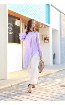 LADY'S LONG SLEEVE TOP 19075A