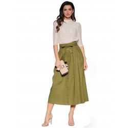 WOMEN'S  LONG SKIRT FASHION 19713A