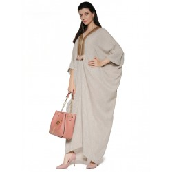 WOMEN'S  KAFTAN DRESS    THREE QUARTER SLEEVE FASHION 19753